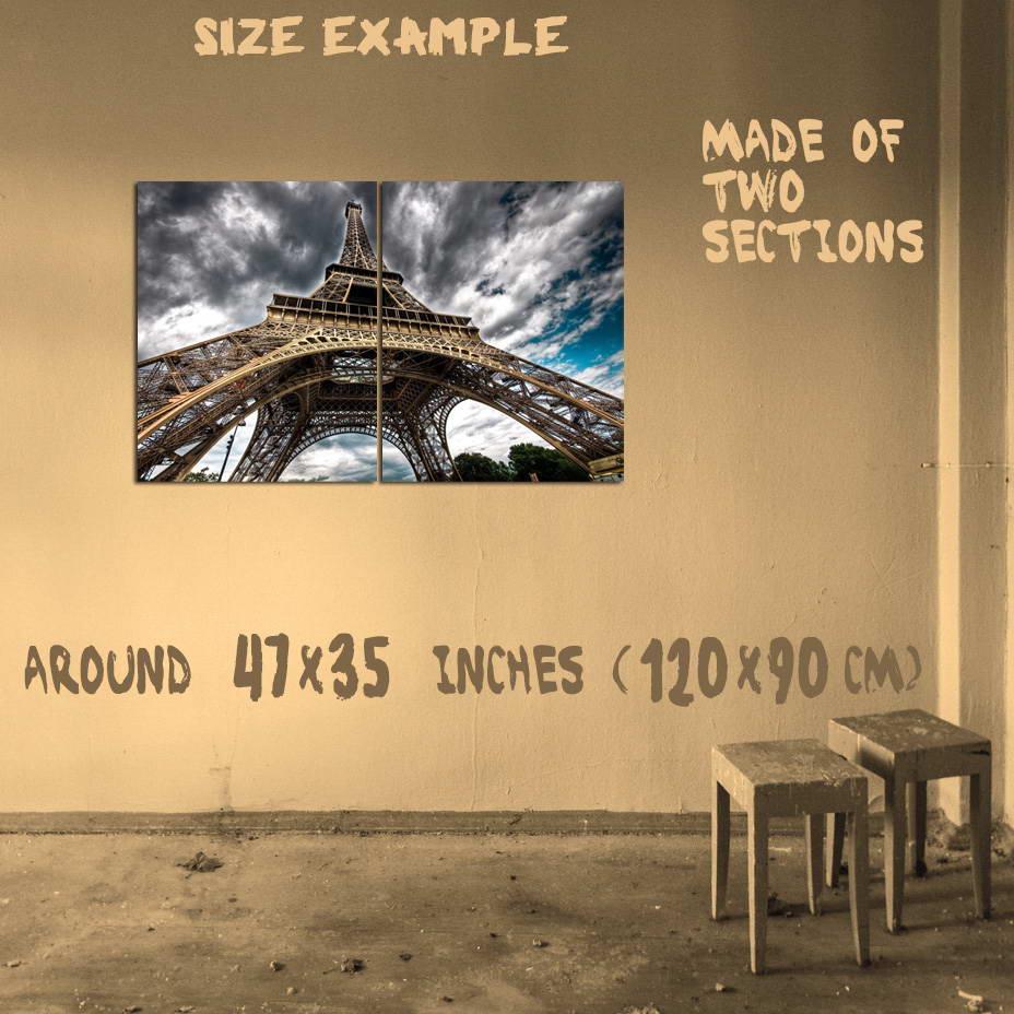 197694 The Eiffel Tower Paris France Wall Print Poster UK | eBay