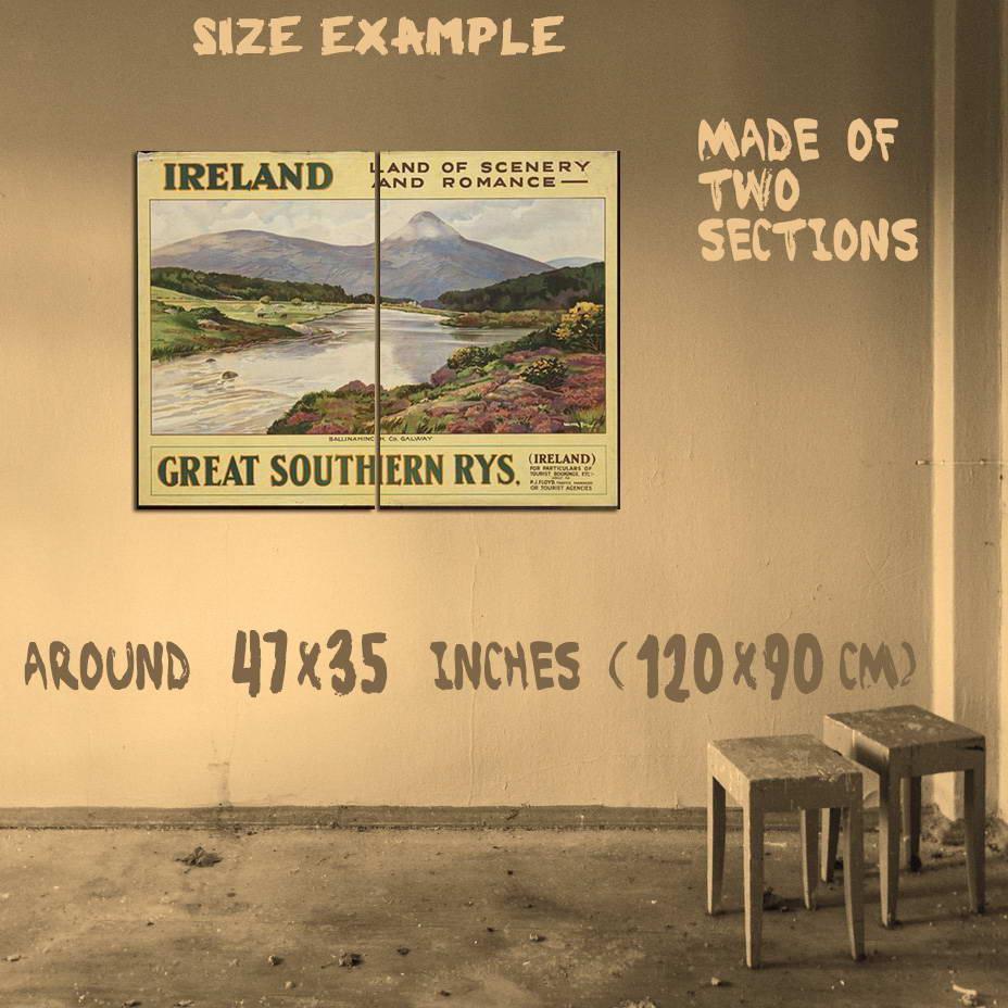 200263 Great Southern Railways Ireland Travel Decor Wall Print ...