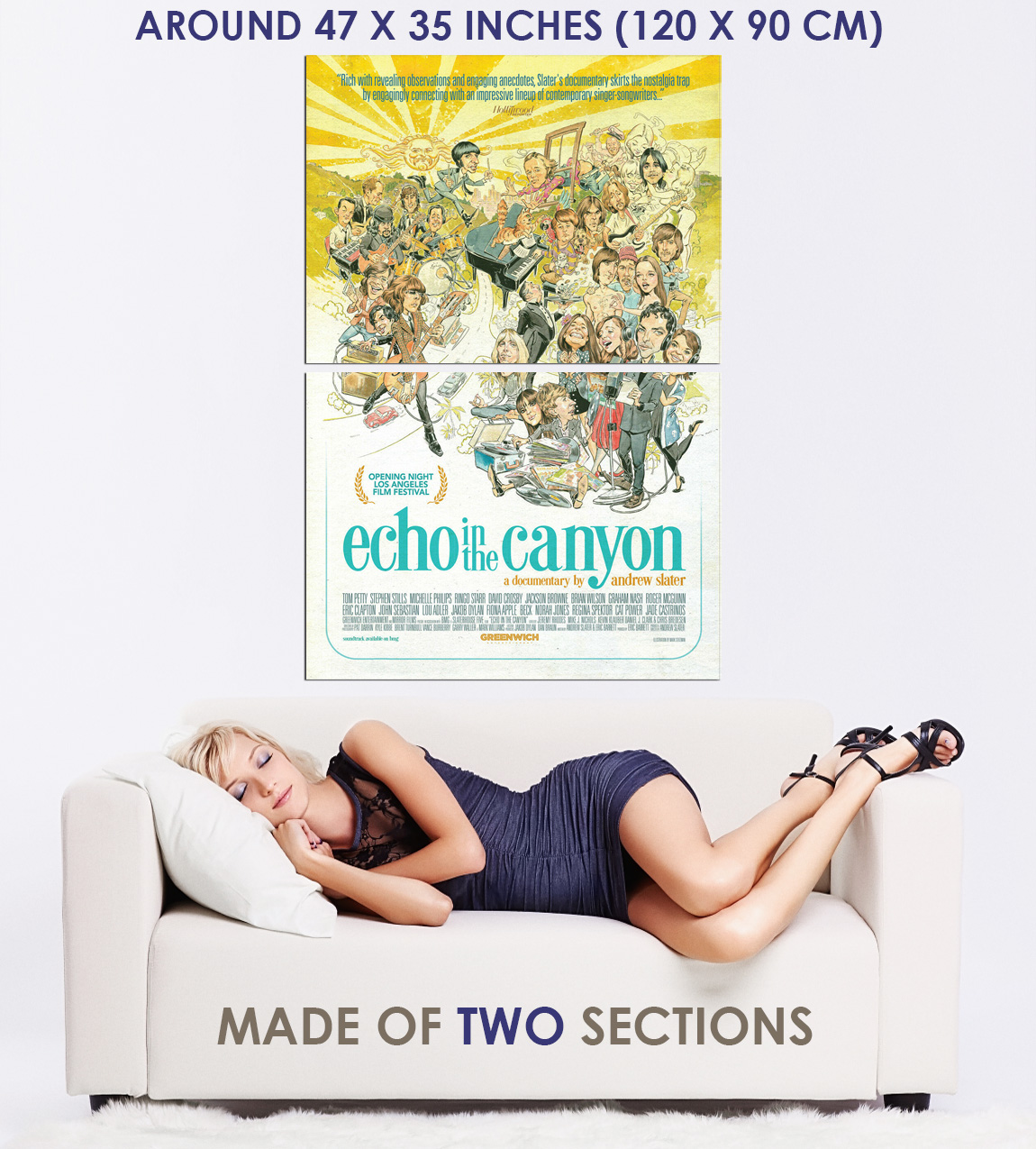 239389 Echo In the Canyon Movie WALL PRINT POSTER US