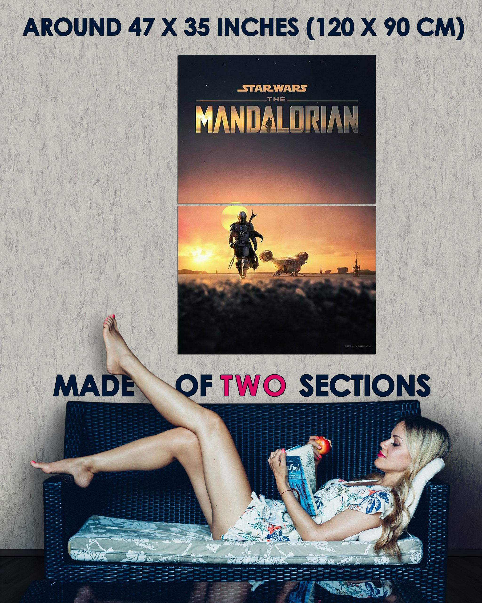 272507 Star Wars The Mandalorian Movie PRINT GLOSSY POSTER DE