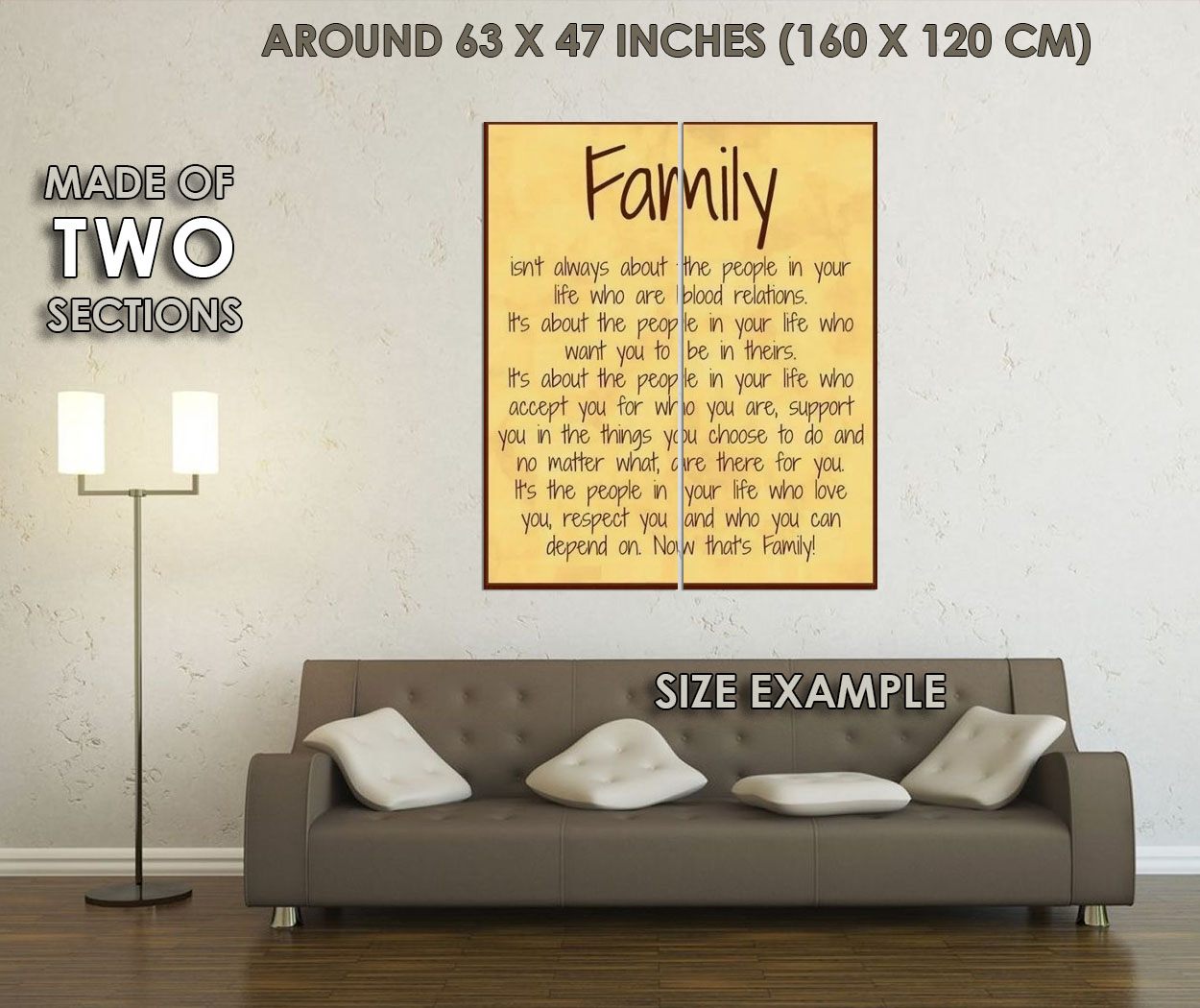 119699 Family Rules happiness love Decor WALL PRINT POSTER UK   eBay