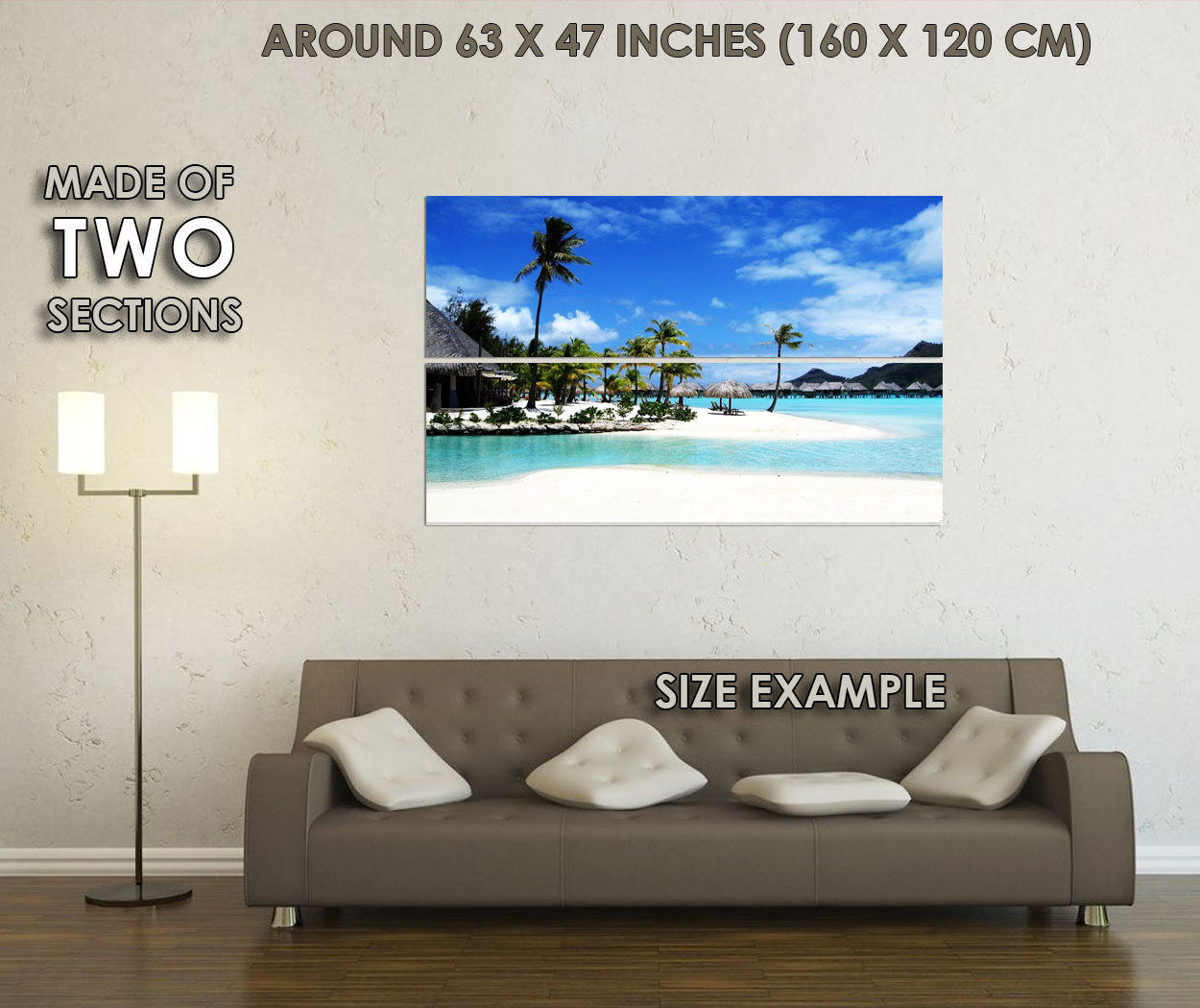 14 Decor WALL PRINT POSTER CA 120453 Beautiful Beach Vol