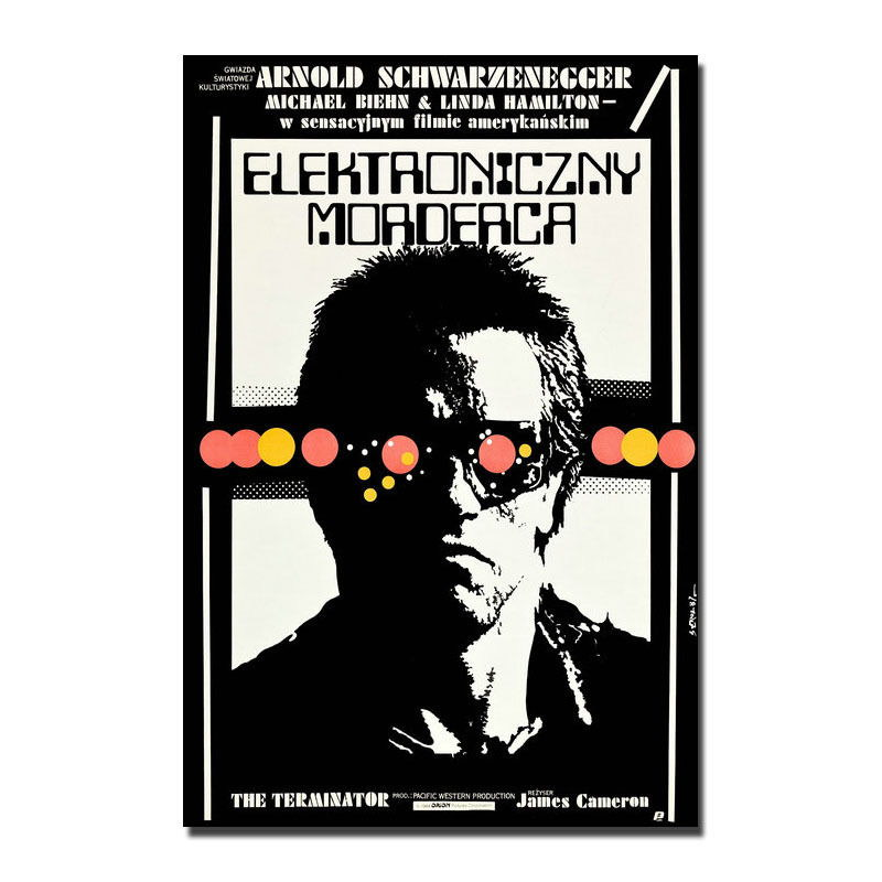 137236-TERMINATOR-RARE-European-Movie-Wall-Print-Poster-Affiche