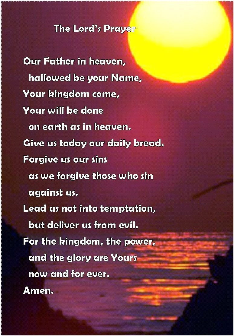 140869-Th-Lord-039-s-Prayer-Christian-Bibl-Wall-Print-Poster-UK