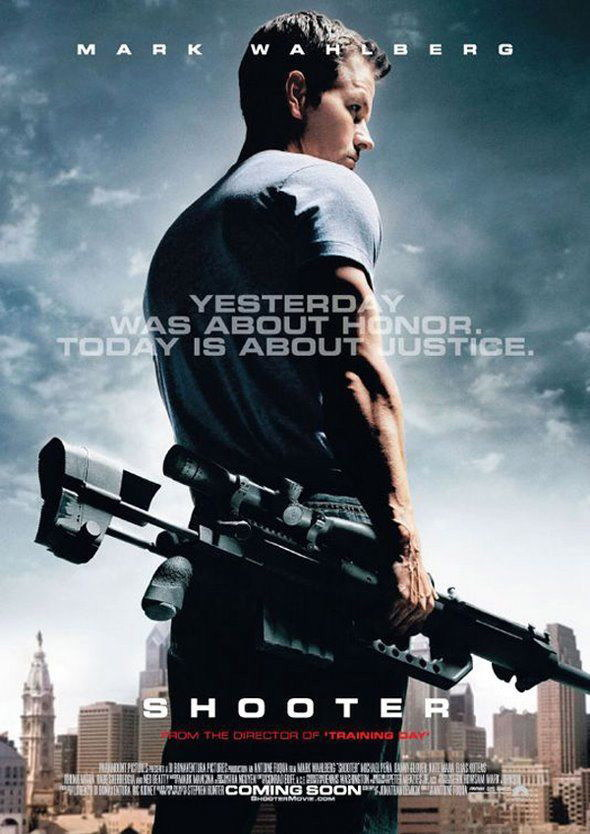 140879-SHOOTER-Classic-MARK-WAHLBERG-Wall-Print-Poster-UK