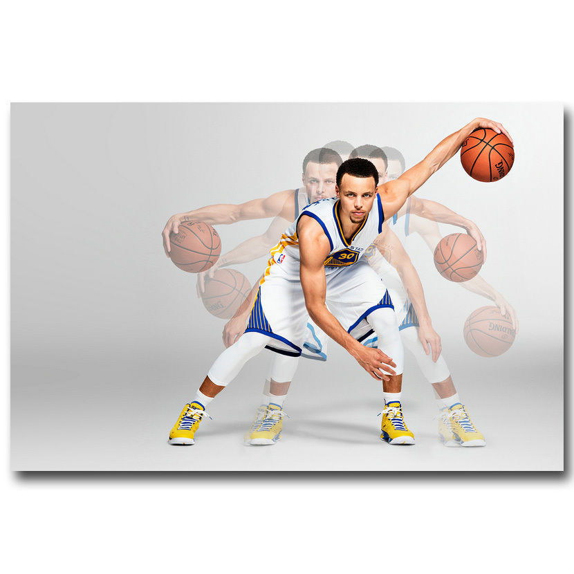 142509 Stephen Curry Super Basketball Star Wall Print Poster Affiche