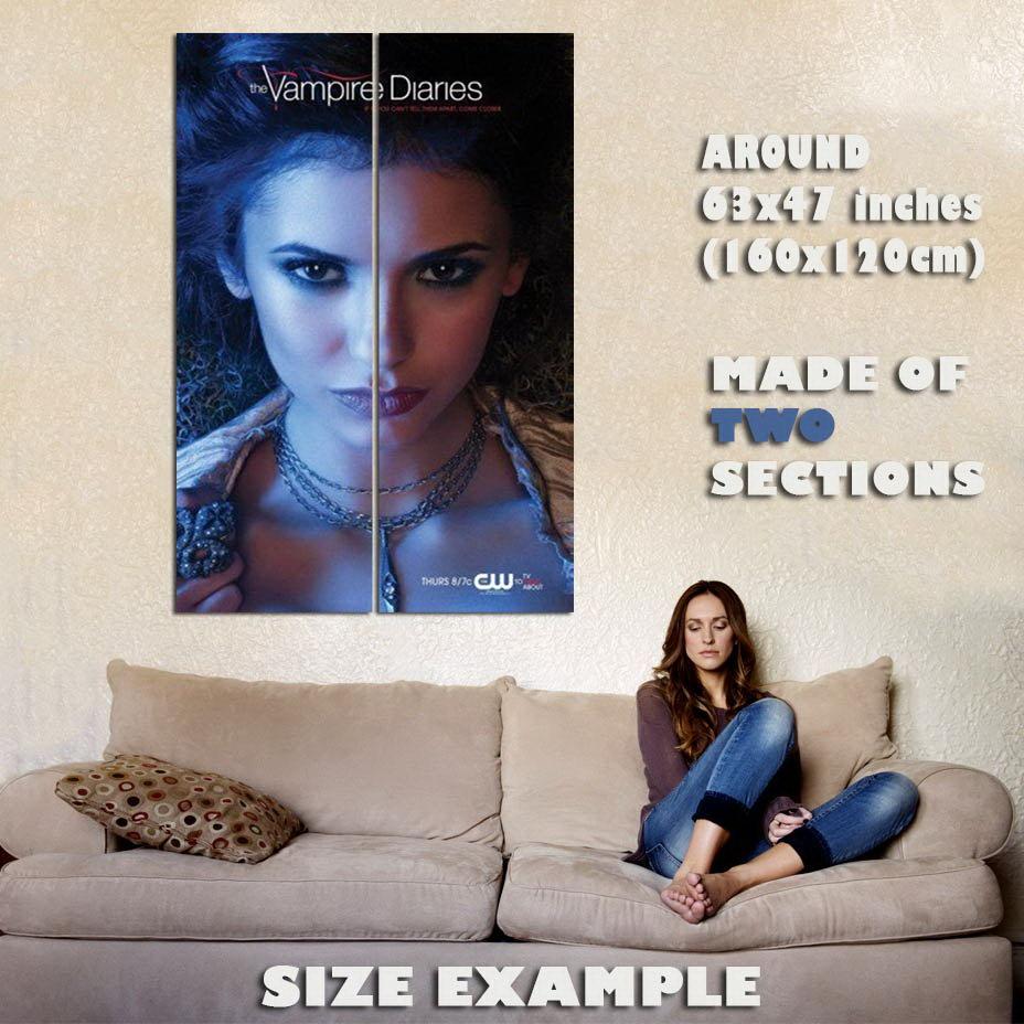 148175 Vampire Diaries Nina Dobrev Wall Print Poster CA
