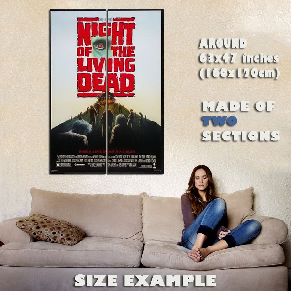 150266-Night-Of-The-Living-Dead-Movie-Wall-Print-Poster-Affiche