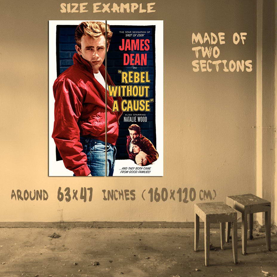 200000-James-Dean-Rebel-without-a-Cause-Wall-Print-Poster-Affiche