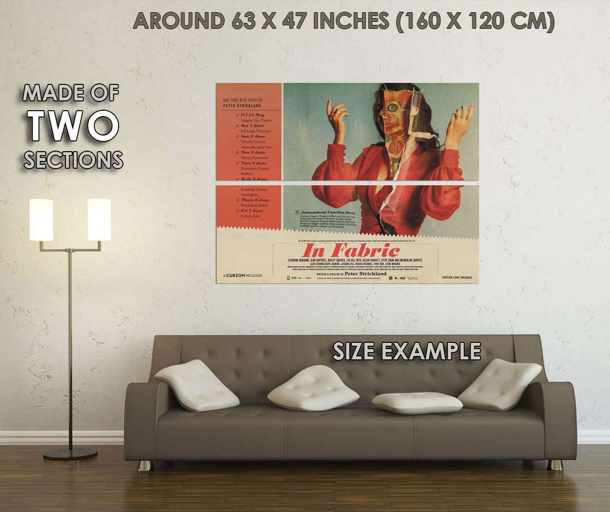 238752 In Fabric Movie WALL PRINT POSTER UK