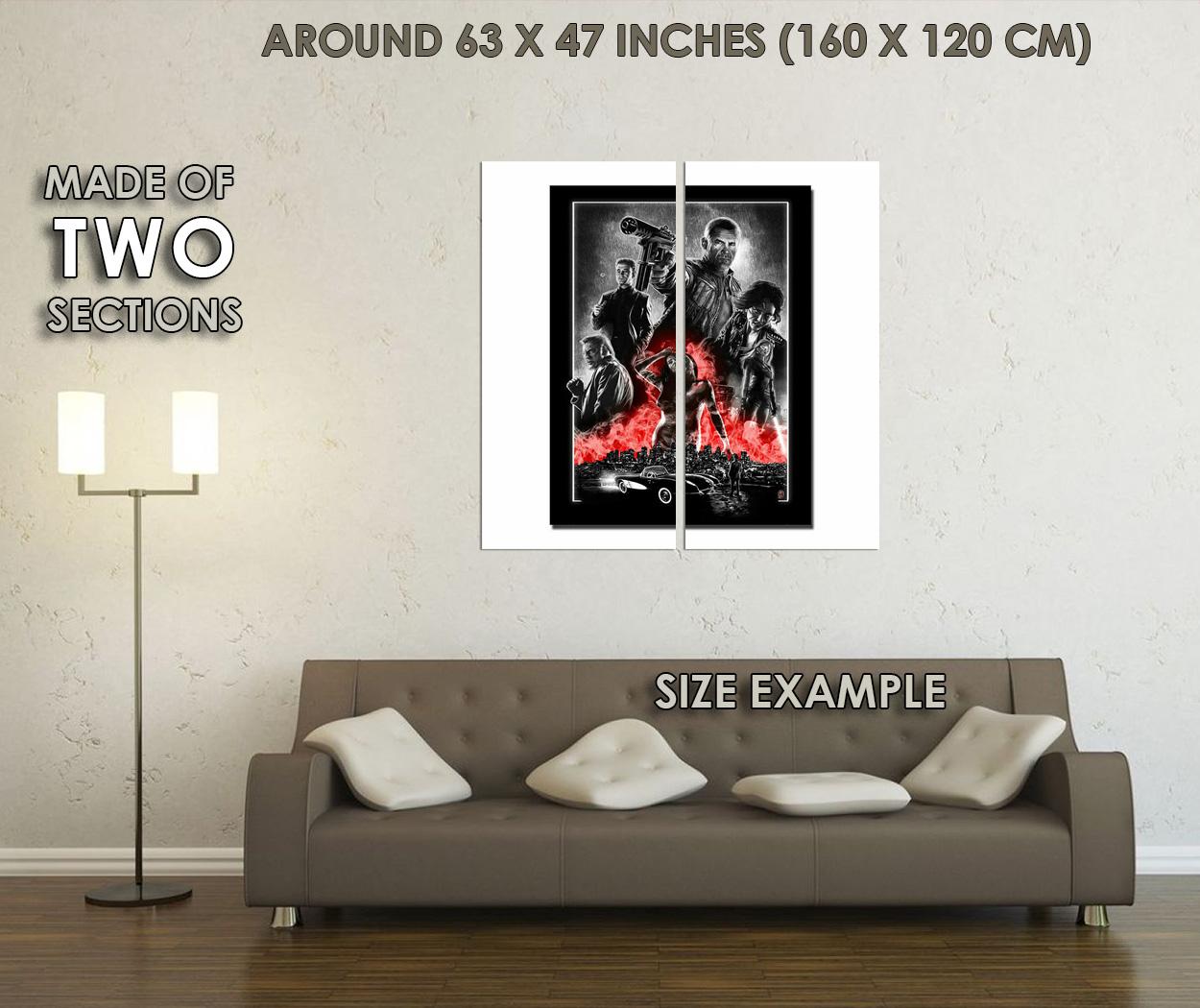 272322 Sin City 2 Classic Movie PRINT GLOSSY POSTER UK