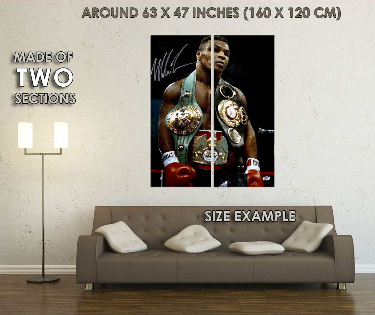 277259 Mike Tyson Great Fighter Boxing Super Star Sport PRINT GLOSSY POSTER DE