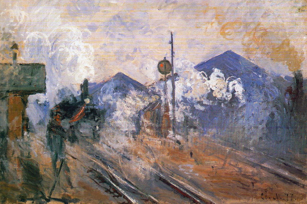 104537-Claude-Monet-Tracks-Saint-Lazare-Station-Decor-WALL-PRINT-POSTER-FR
