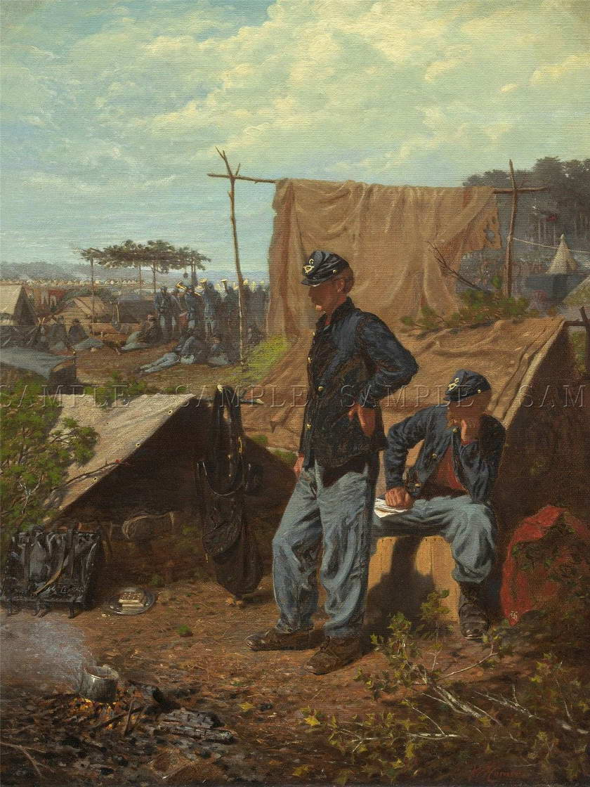 114176-WINSLOW-HOMER-AMERICAN-HOME-SWEET-HOME-Decor-WALL-PRINT-POSTER-FR