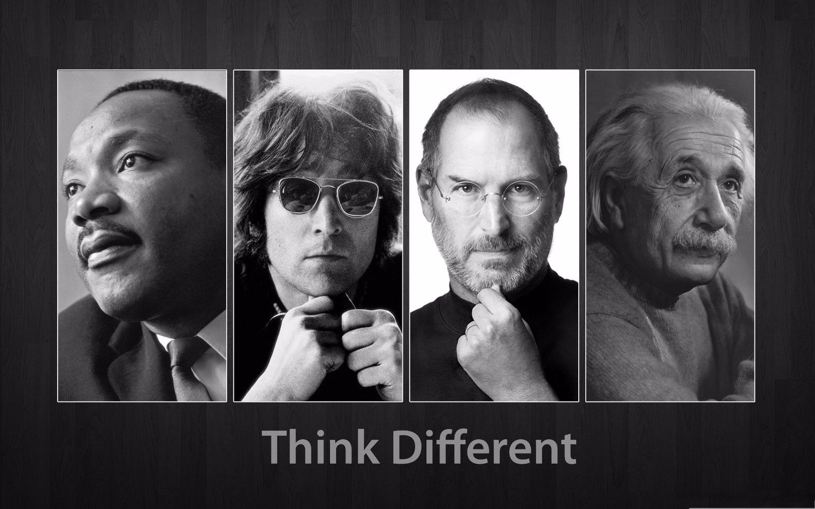 125812 Think Different Decor WALL PRINT POSTER FR