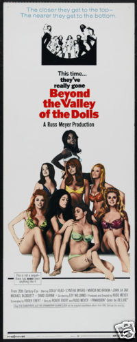 130521 Beyond the valley of dolls Decor WALL PRINT POSTER US