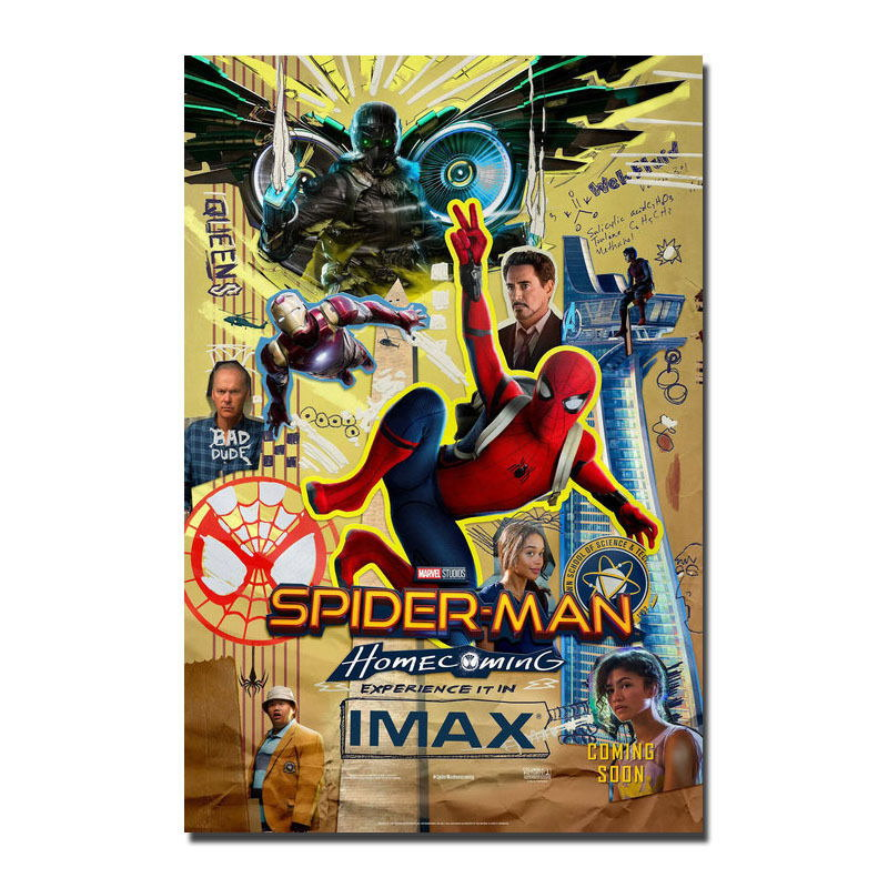 137239-Spider-Man-Homecoming-2017-Movie-Wall-Print-Poster-Affiche