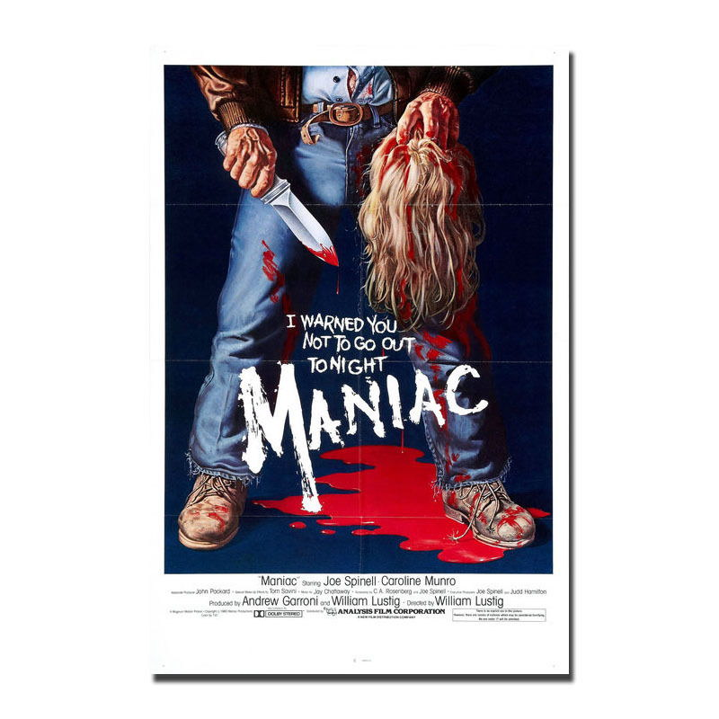 138146-MANIAC-Horror-Movie-Wall-Print-Poster-Affiche