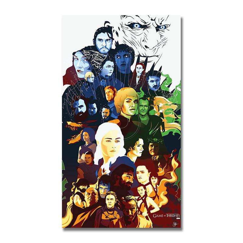 138351-Game-Of-Thrones-7-Show-SeriesJohn-Snow-Wall-Print-Poster-UK