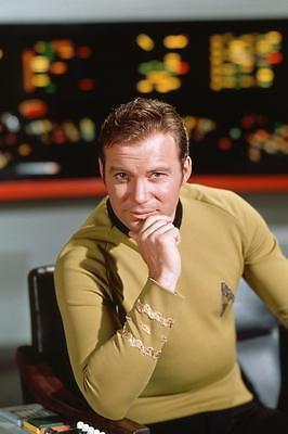 150308-William-Shatner-Star-Trek-Capt-Kirk-Wall-Print-Poster-Affiche