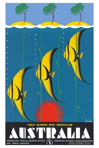 151603-Australia-Great-Barrier-Reef-Wall-Print-Poster-UK