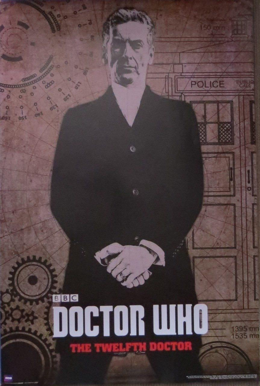 208412 Doctor Who Peter Capaldi Twelfth Doctor Decor Wall PRINT CA