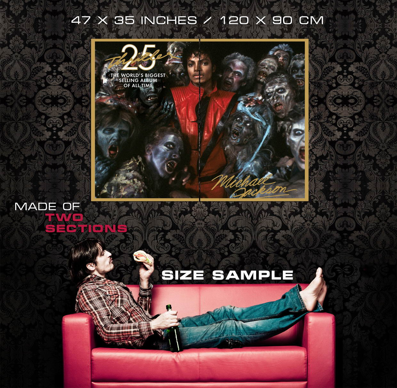 D1765 Michael Jackson Thriller Zombies Gigantic Print POSTER