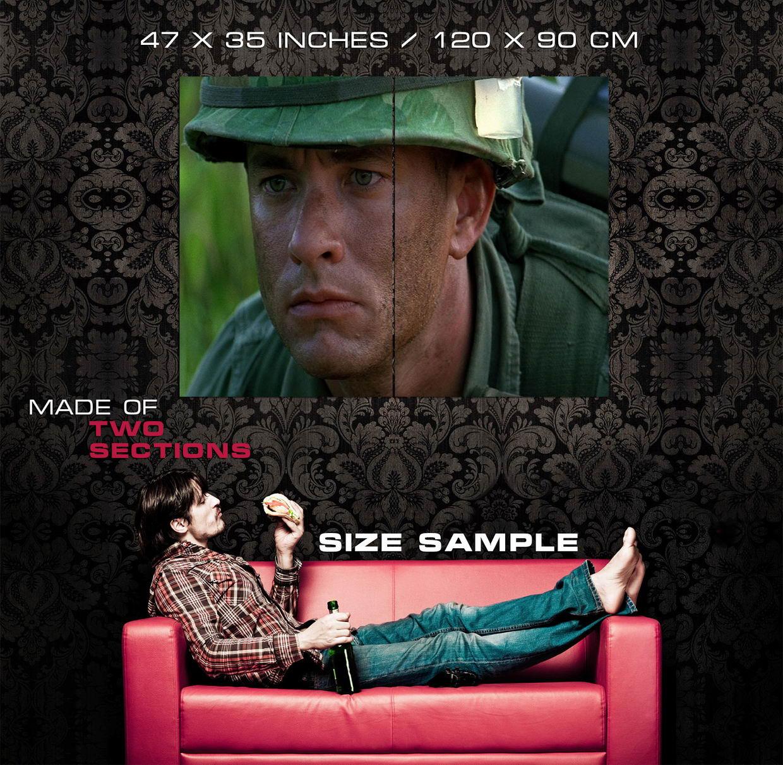 D7709 Forrest Gump Soldier Vietnam Tom Hanks Movie Gigantic Print POSTER