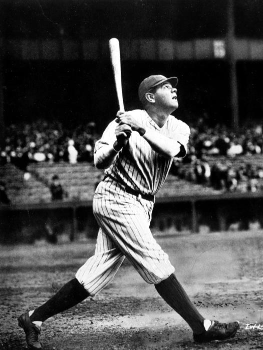 D8559 George Herman Babe Ruth MLB Baseball Sport Gigantic Print POSTER