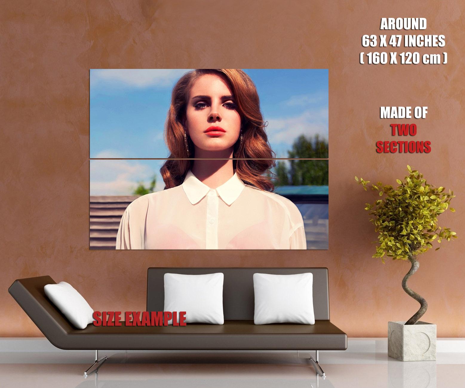 Lana Del Rey Retro Style Indie Pop Music Rare Huge Giant Print POSTER Plakat
