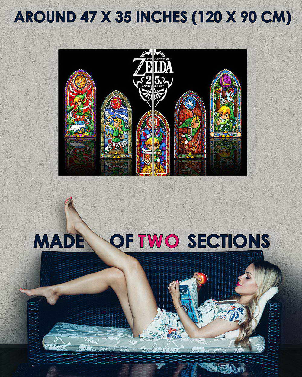 10373-The-Legend-Of-Zelda-Game-LAMINATED-POSTER-CA thumbnail 5