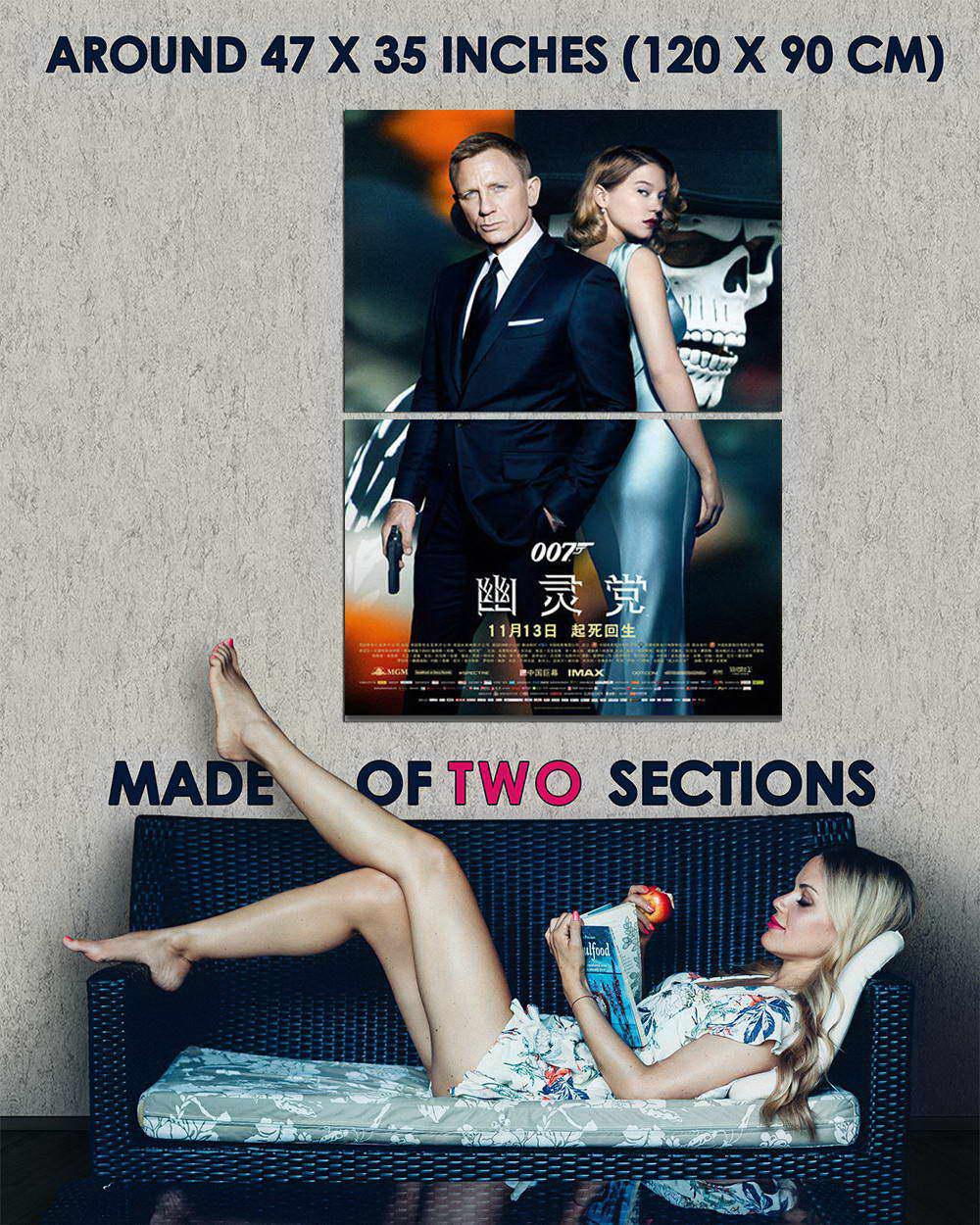 10785-James-Bond-24-Spectre-2-Mo-Art-LAMINATED-POSTER-CA thumbnail 5