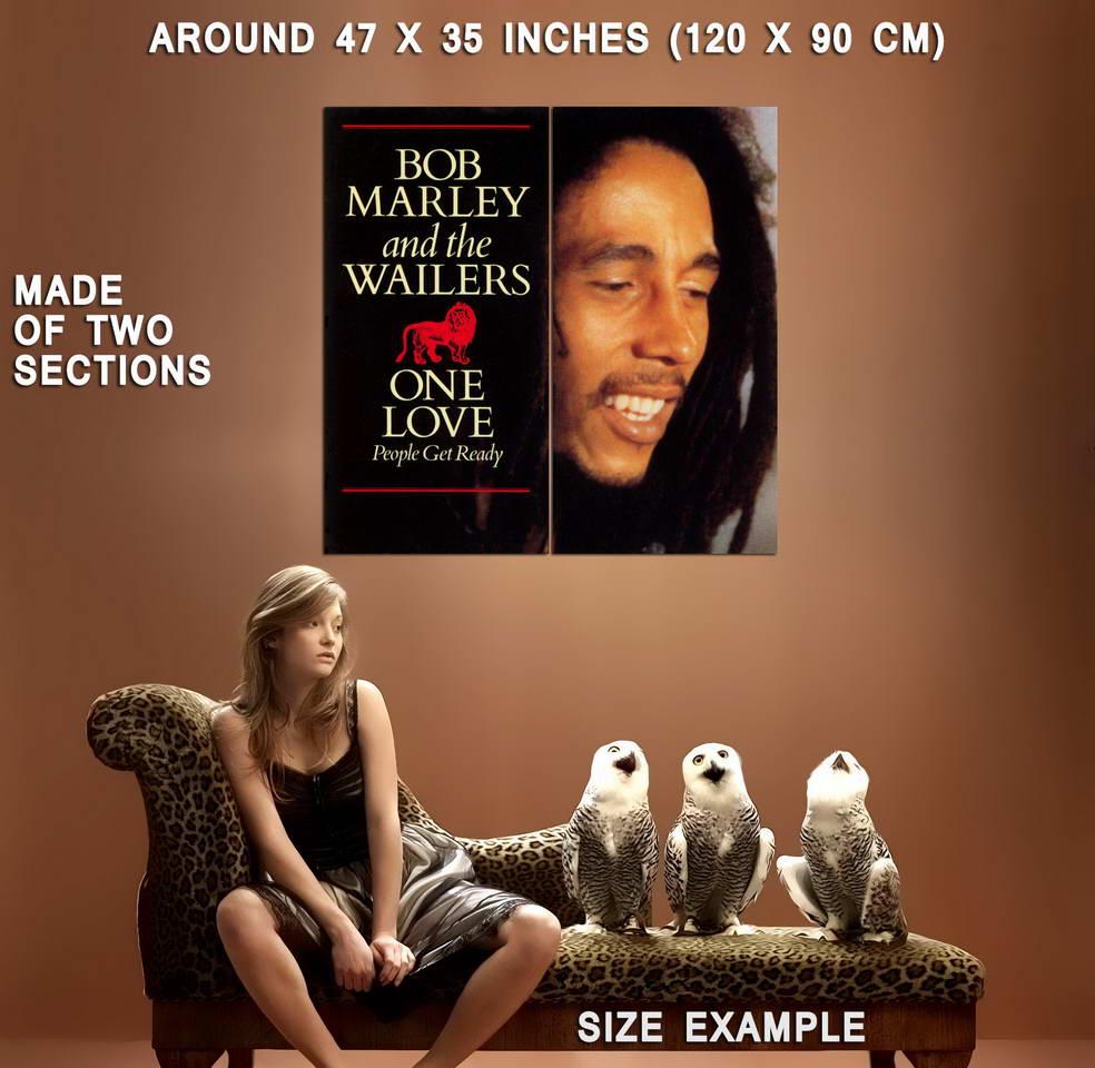 62288-BOB-MARLEY-ONE-LOVE-Wall-Print-Poster-Plakat Indexbild 5