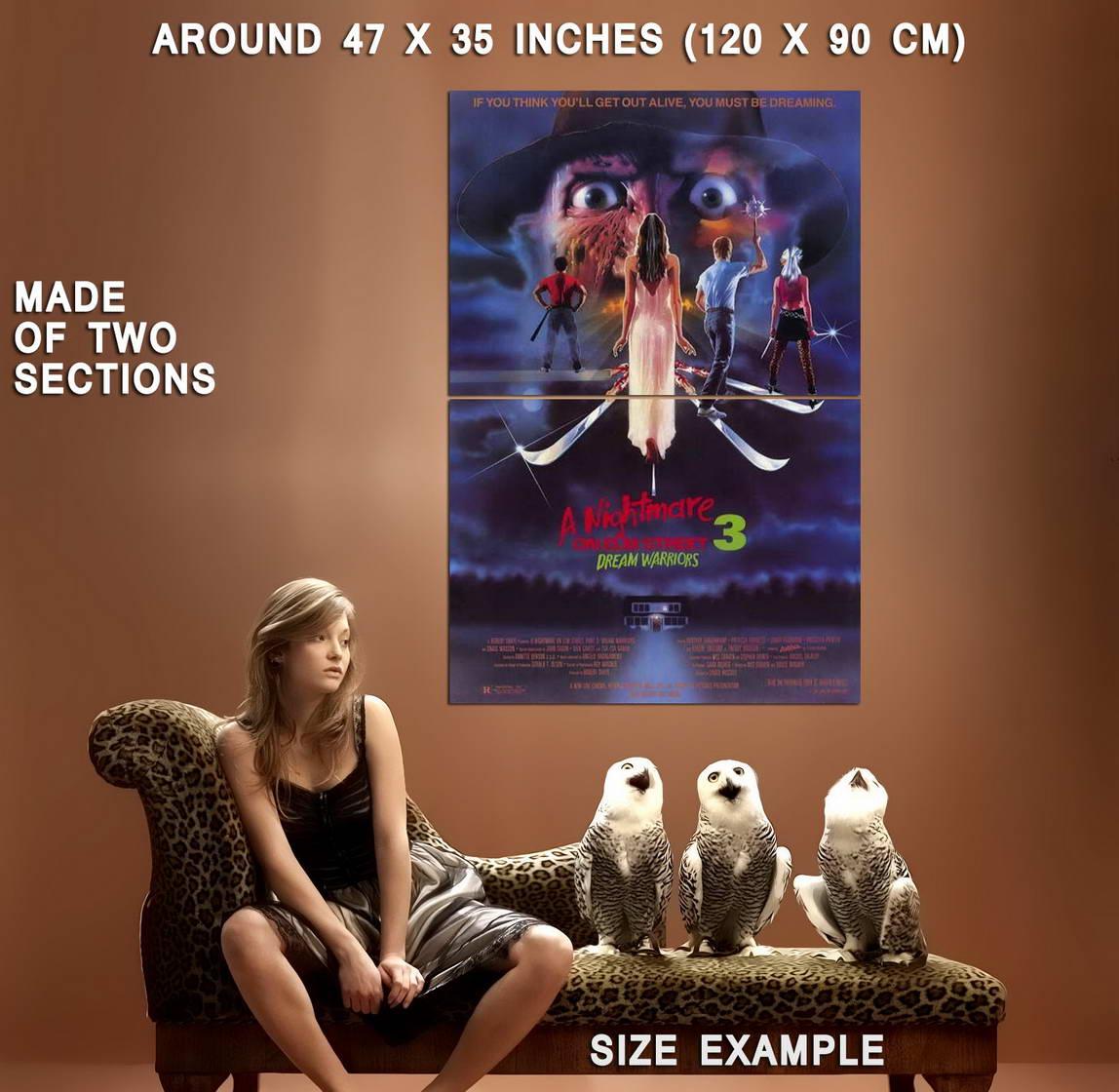 67892-A-Nightmare-on-Elm-Street-3-Dream-Warriors-Wall-Print-Poster-Affiche