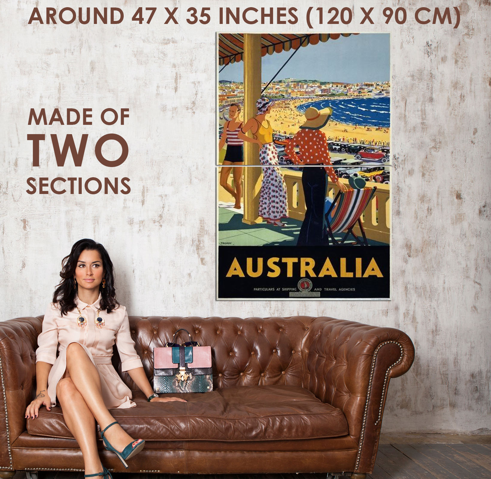83895-Vintage-1930-Australia-Australian-Travel-Decor-WALL-PRINT-POSTER-AU