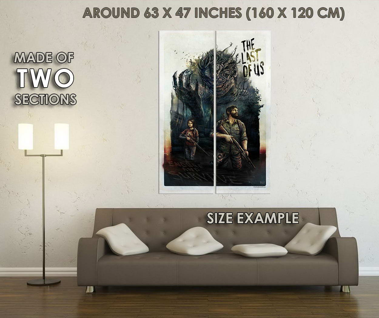 10048-The-Last-Of-Us-Hot-Game-Art-Ellie-Joel-LAMINATED-POSTER-CA thumbnail 6