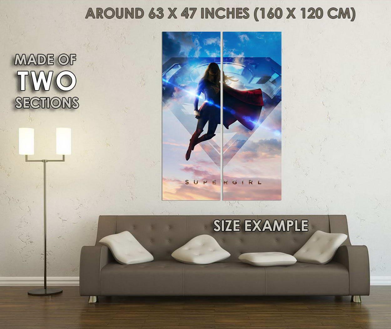 10096-Supergirl-TV-Series-Superheroes-LAMINATED-POSTER-CA thumbnail 6