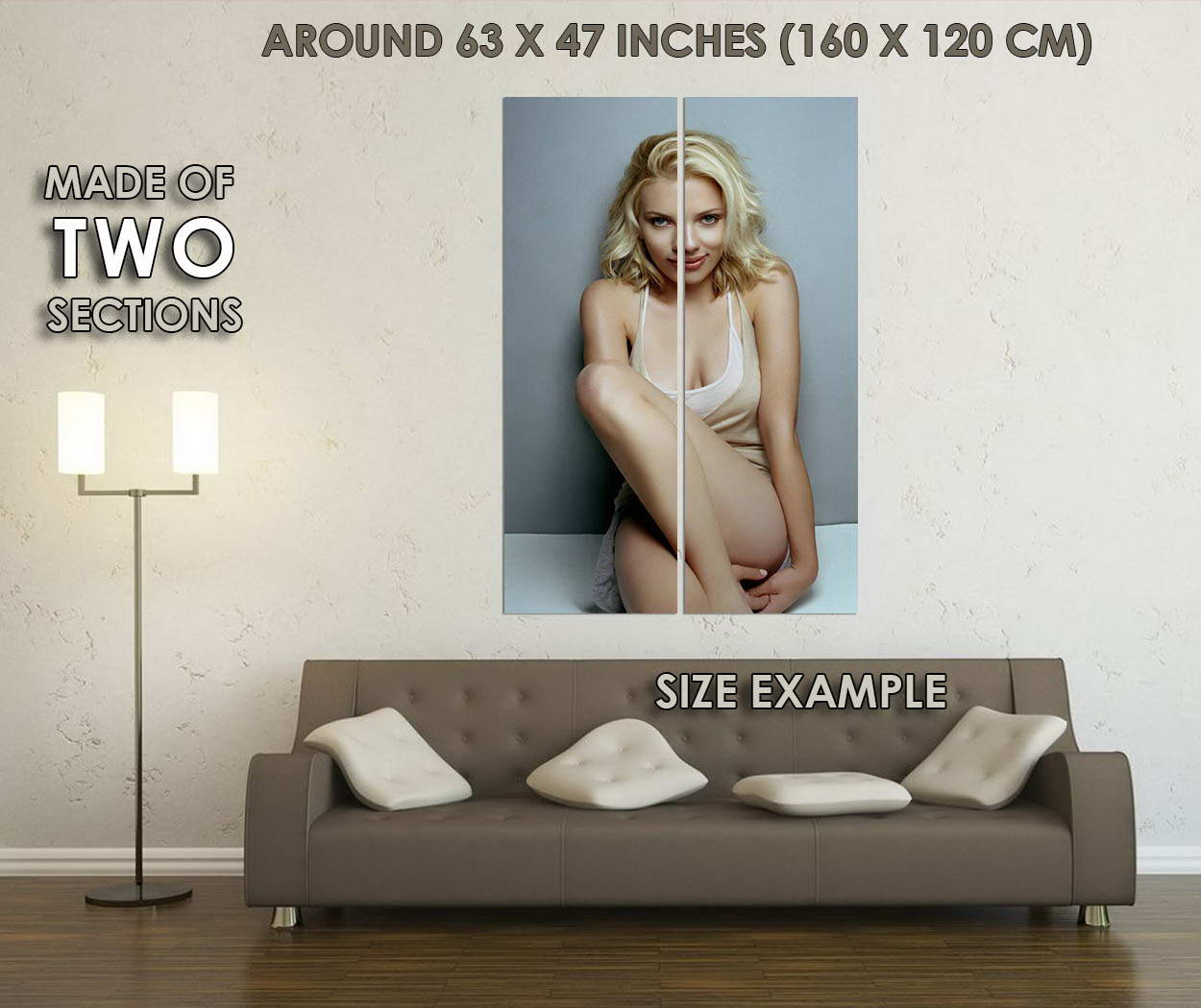 10103-Scarlett-Johansson-Sexy-Movie-Star-Black-Widow-LAMINATED-POSTER-CA thumbnail 6