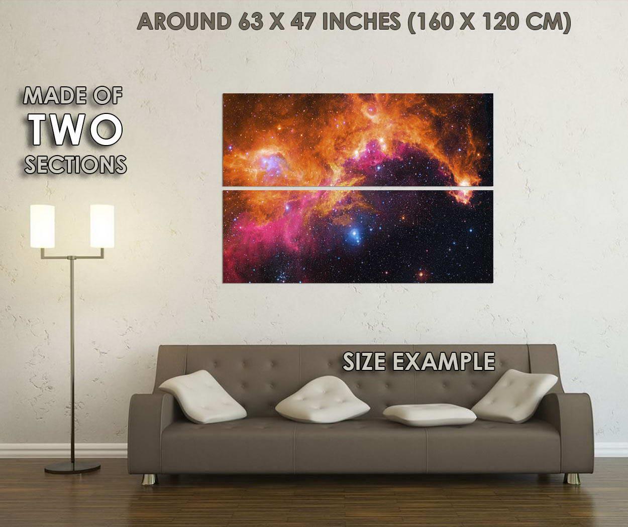 10115-Milky-Way-Galaxy-Stars-Nebula-Space-Universe-LAMINATED-POSTER-CA thumbnail 6