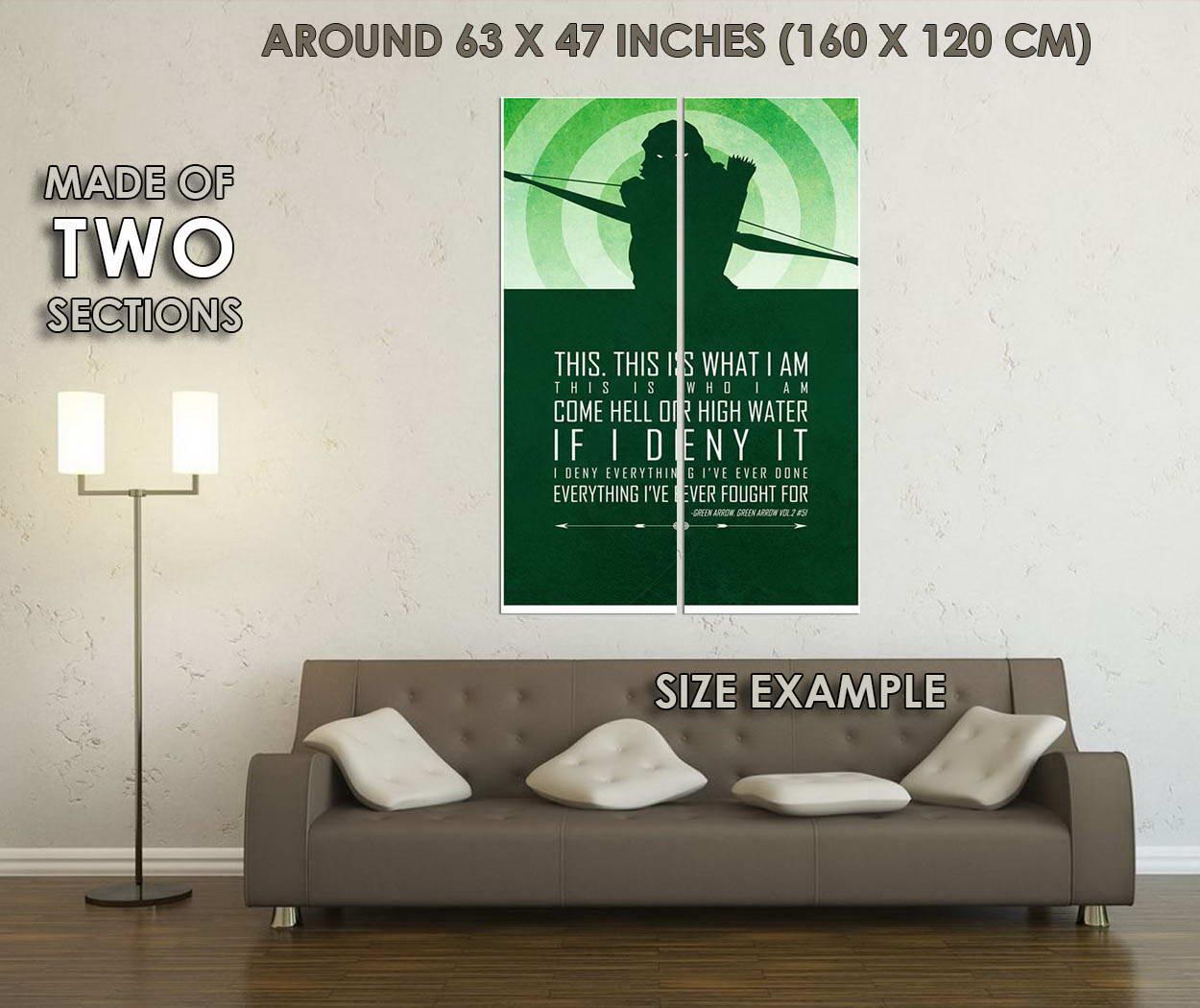 10117-GREEN-ARROW-Motivational-Quotes-Comic-LAMINATED-POSTER-CA thumbnail 6