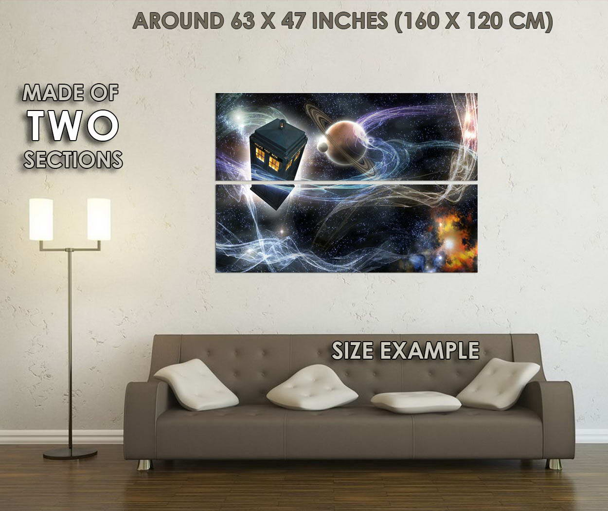10134-Doctor-Who-9-TV-Series-Art-Police-Box-In-Space-LAMINATED-POSTER-CA thumbnail 6