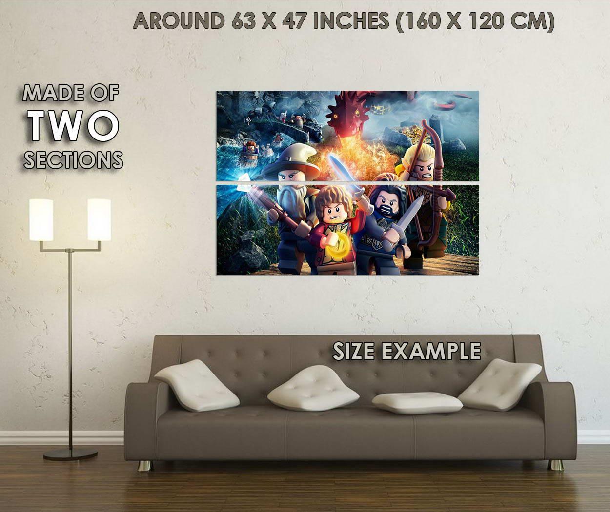 10135-LEGO-Movie-The-Hobbit-3-LAMINATED-POSTER-CA thumbnail 6
