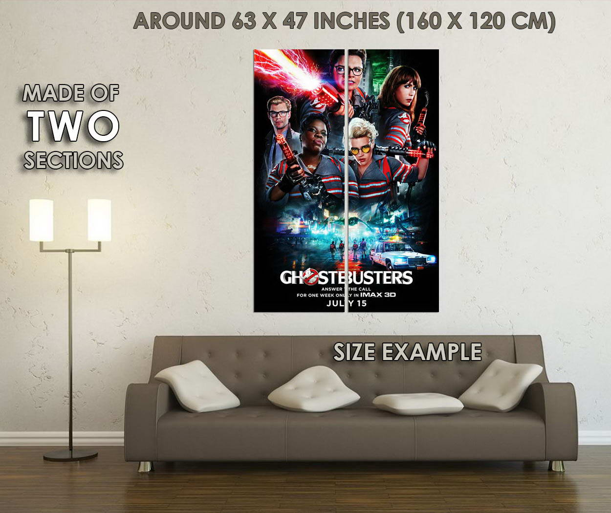 10186-Ghostbusters-2-Movie-LAMINATED-POSTER-CA thumbnail 6
