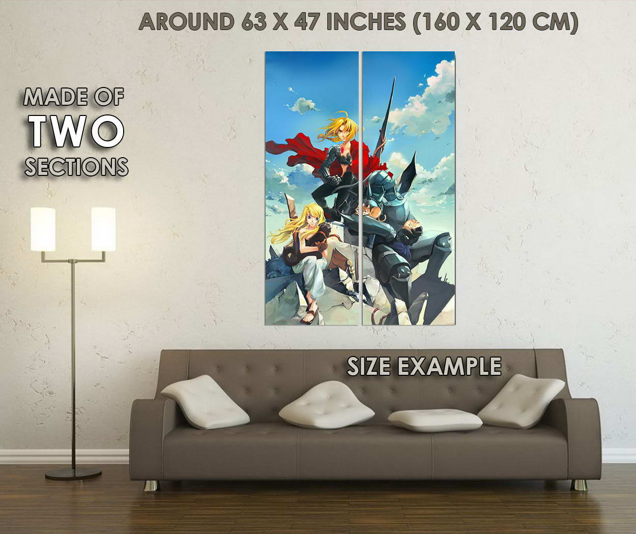 10200-Fullmetal-Alchemist-Japanese-Anime-Edward-Elric-LAMINATED-POSTER-CA thumbnail 6