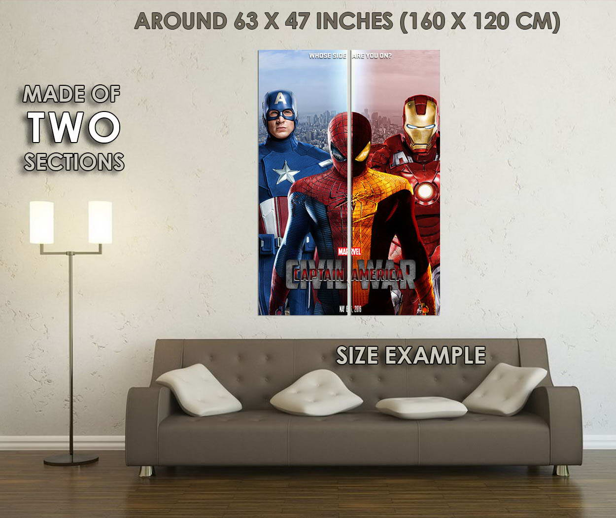 10202-Captain-America-3-Civil-War-Iron-Man-LAMINATED-POSTER-CA thumbnail 6
