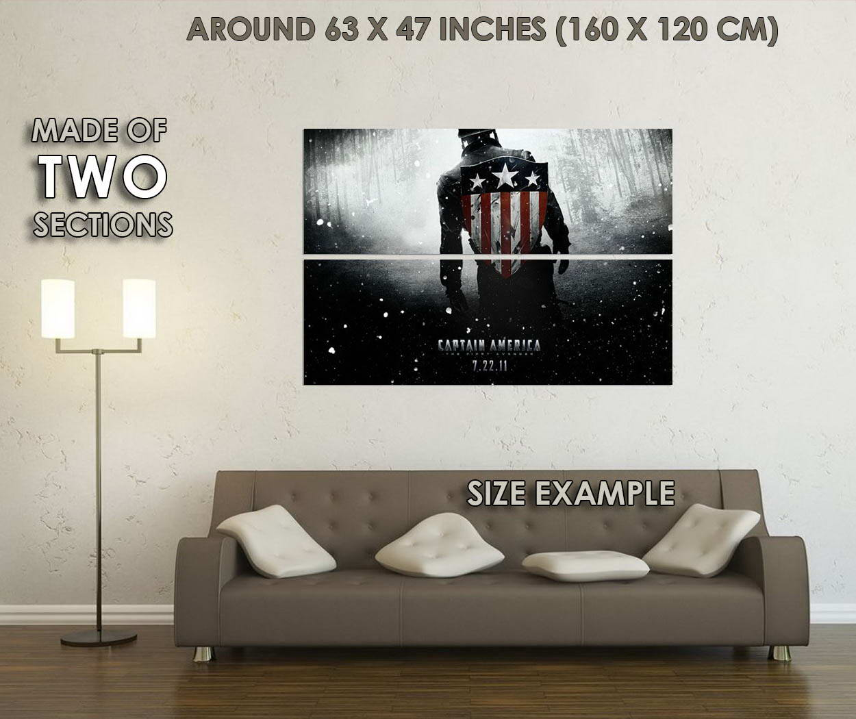 10207-Captain-America-2-The-Winter-Solider-LAMINATED-POSTER-CA thumbnail 6