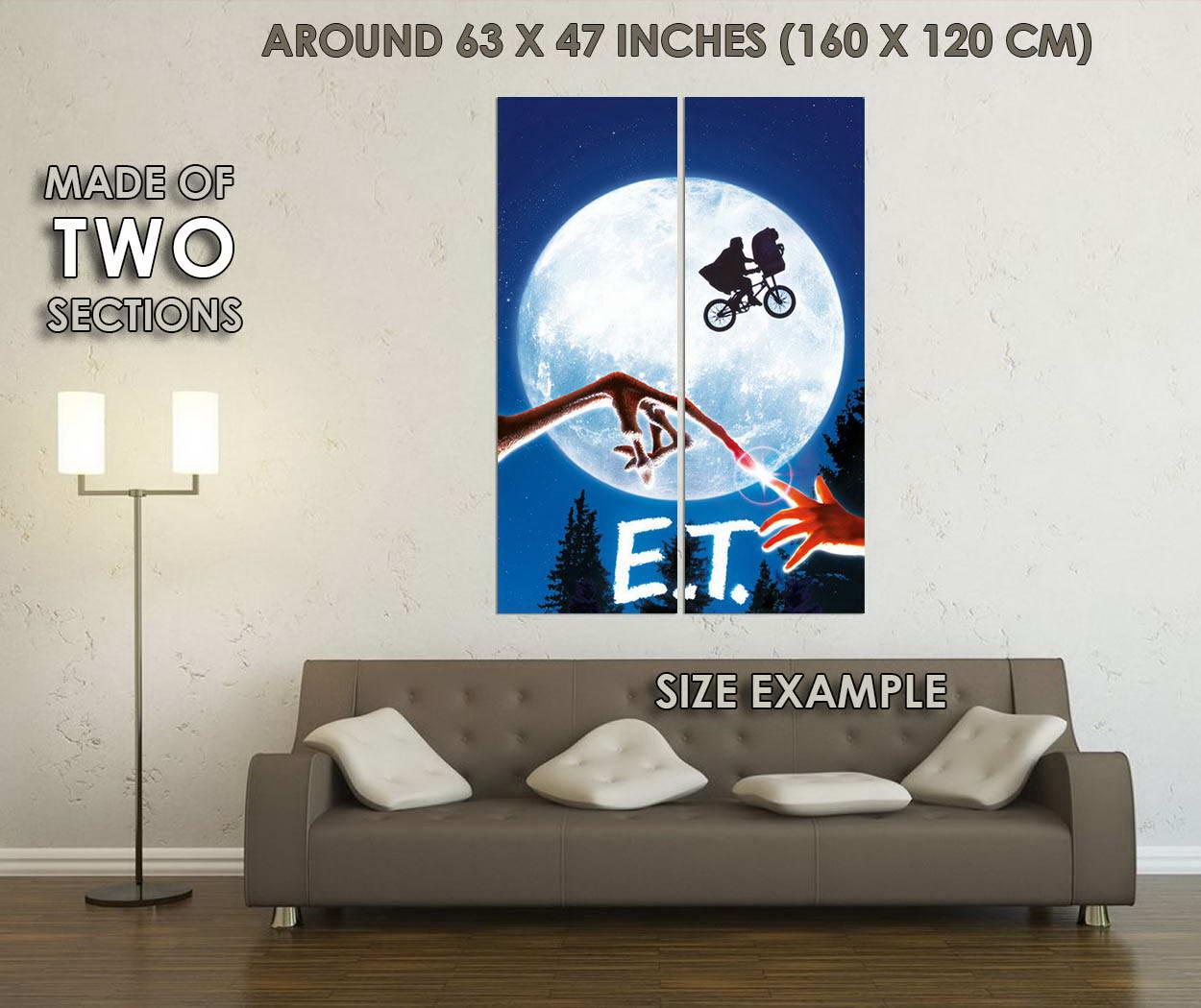 10218-E-T-The-Extra-Terrestrial-Movie-LAMINATED-POSTER-CA thumbnail 6