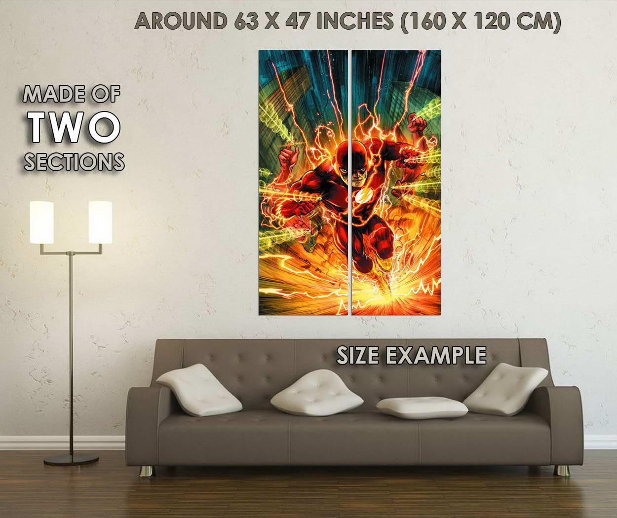10227-The-Flash-Superheroes-Comic-LAMINATED-POSTER-CA thumbnail 6