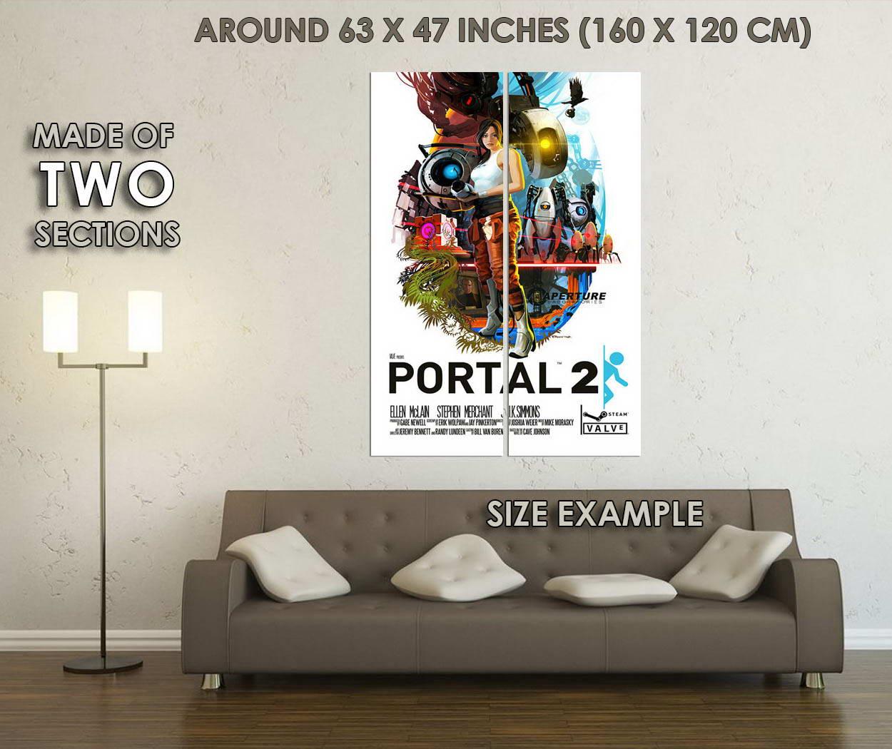 10250-Portal-2-Game-LAMINATED-POSTER-CA thumbnail 6