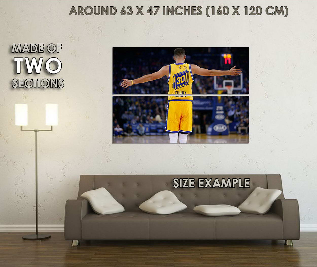 10270-Stephen-Curry-Super-Basketball-Star-Canvas-LAMINATED-POSTER-CA thumbnail 6